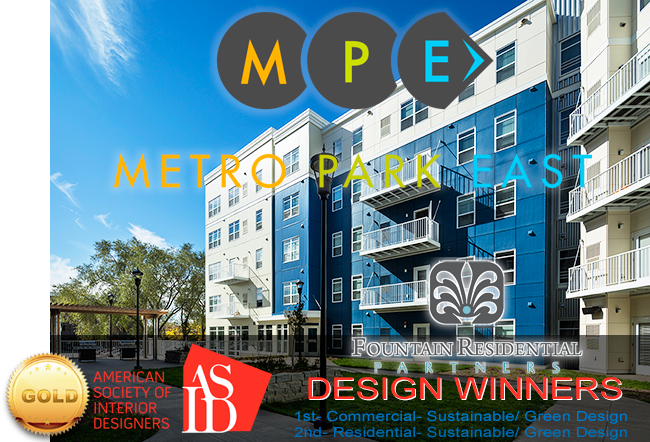 ASID Legacy of Design Awards: Fountain Residential's Metro Park East Wins Two Awards